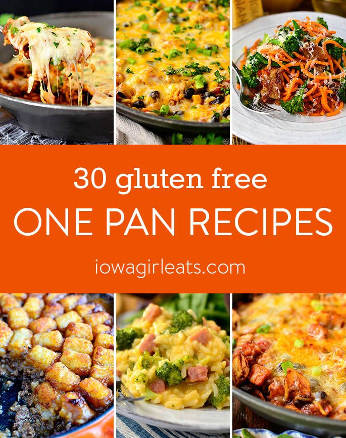 30 One Pan Recipes Gluten Free Gluten Free Recipes For Dinner