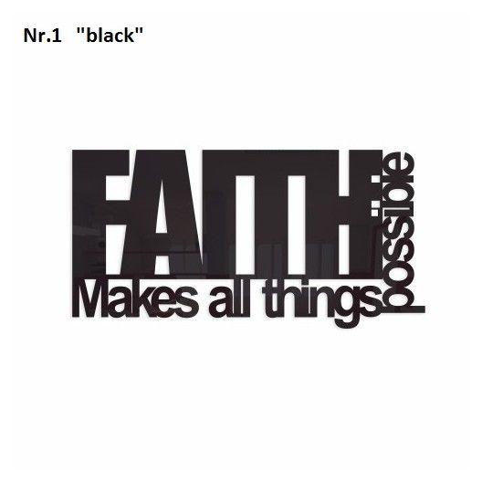 Nastenna dekoracia FAITH