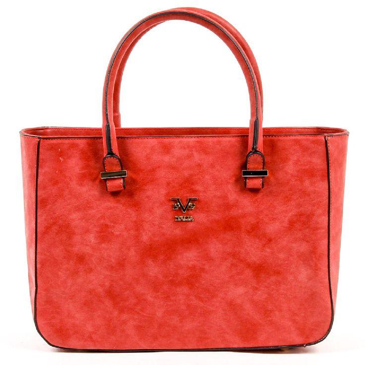 Versace 19.69 Abbigliamento Sportivo Srl Milano Italia Womens Handbag V1969007 RED