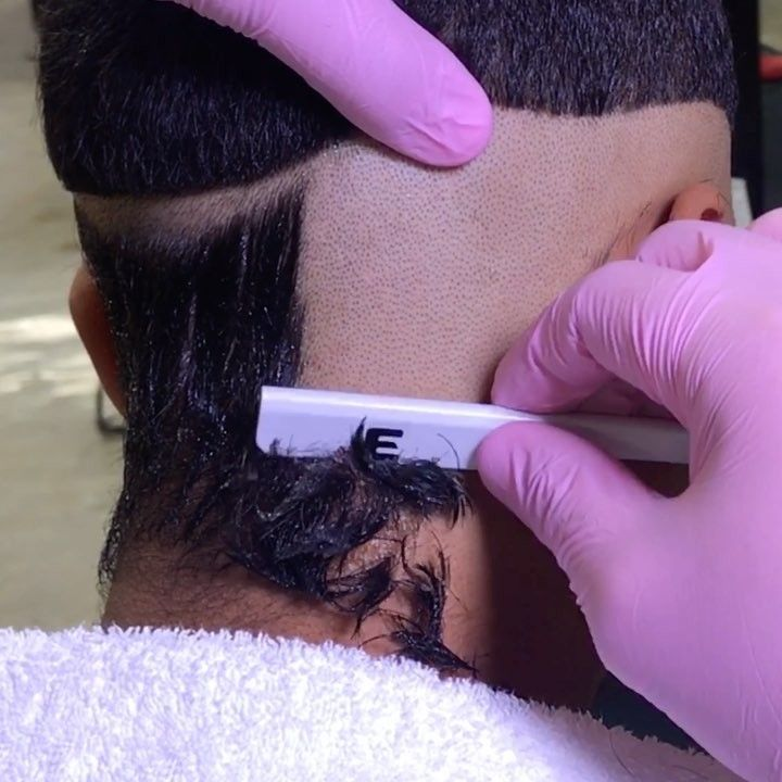 "Razor fade: ""Make sure you pull the skin with your thumb""  on @___believe1  __________________________________________ YouTube: Bestest barber __________________________________________ #PATDON  #BestestBarber #organicbarber #nocolor #elegancestudio #melrose #LAbarber #LosAngelesbarber #hollywoodbarber #beverlyhillsbarber  #calabasasbarber #barbershopconnect #barbersinctv #nastybarbers #sharpfade #menshair #hair #hairstyle #fashion #style #LA #losangeles  Book your appointment with me today…"