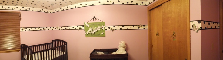 DIY baby room under $50.00 and 24 work hours.