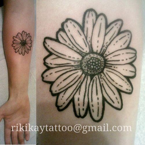 Daisy Flower Tattoo Design   FloweryWeb
