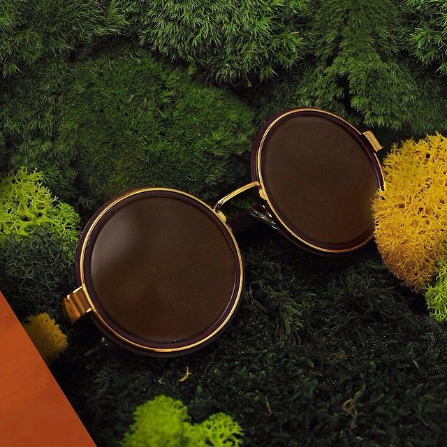 NEW IN: for #SS15, directly from the bohemian 70's, #DriesVanNoten embellished round sunglasses.