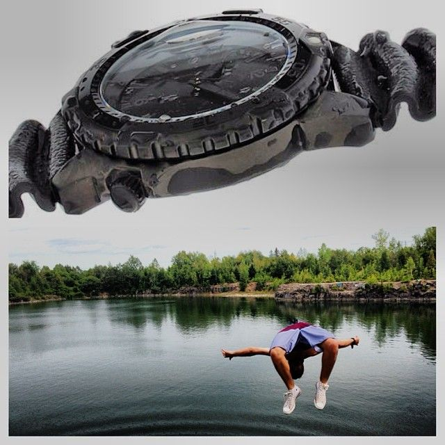 Our Momentum Deep 6 Vision is as extreme as you are.   http://www.momentumwatch.com/
