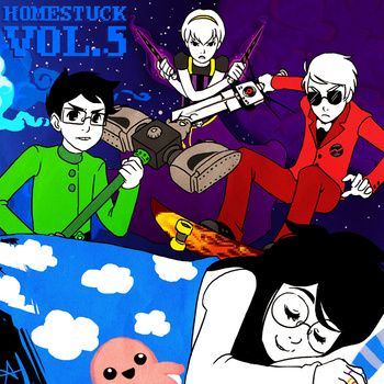 Homestuck Vol. 5-gotta love homestuck music