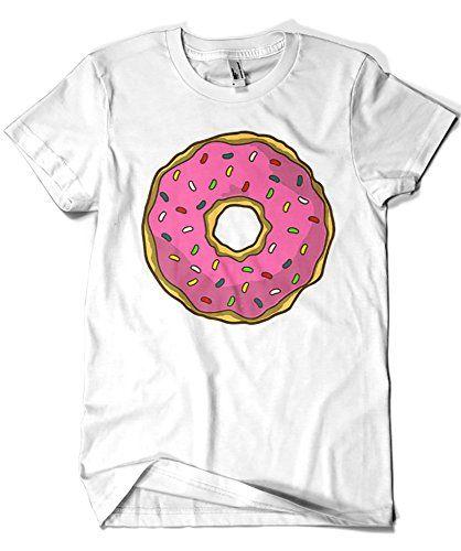 1213-Camiseta Simpson - Rosquilla Homer (Melonseta) #camiseta #realidadaumentada #ideas #regalo