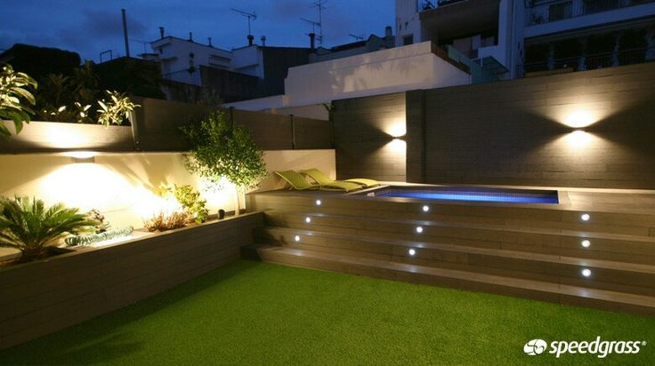 55 best ideas para picinas images on pinterest pools - Luces para piscinas ...