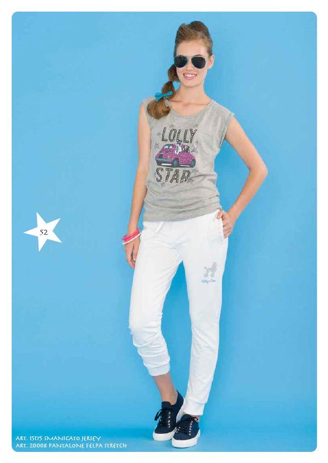 #Tshirt Jersey e #Pantaloni #Felpa Stretch #LollyStar - Scopri tutta la collezione #SpringSummer qui --> http://www.lollystar.it/