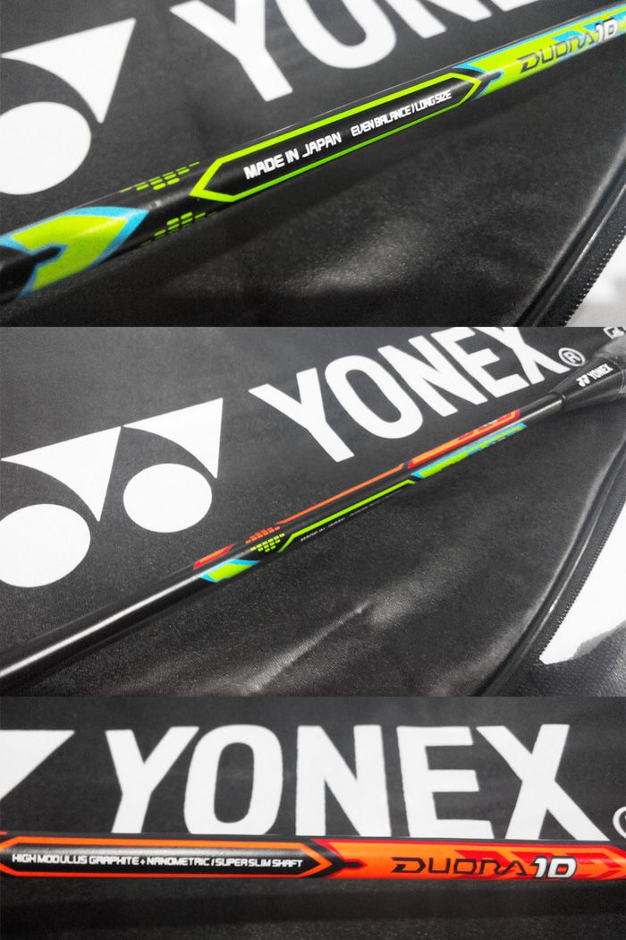 Raket Badminton Yonex DUORA 10 Explosive Extended