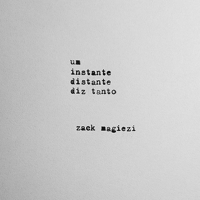 sobre a saudade #zackmagiezi