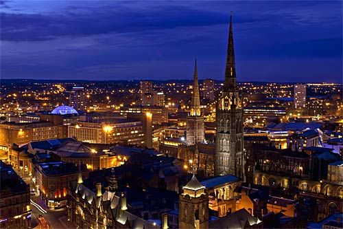 Coventry England. This is where I met my husband.