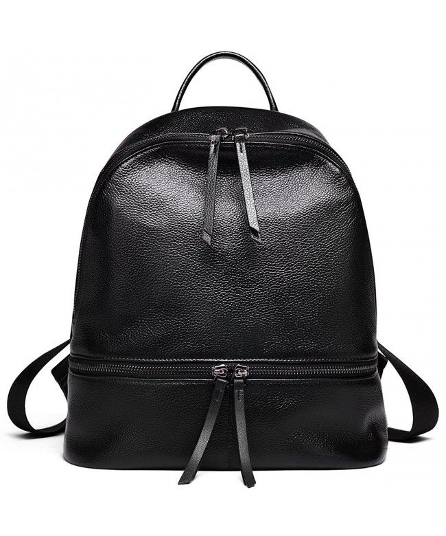 3de81acded4c Valentine s Day Gifts Leather Backpack Purse for Women Girls Fashion Casual  School Satchel - black -