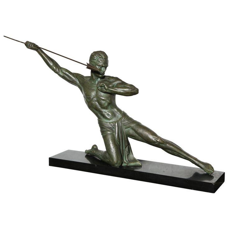 79 best images about art deco statues men on pinterest sculpture auction and sculpture art. Black Bedroom Furniture Sets. Home Design Ideas