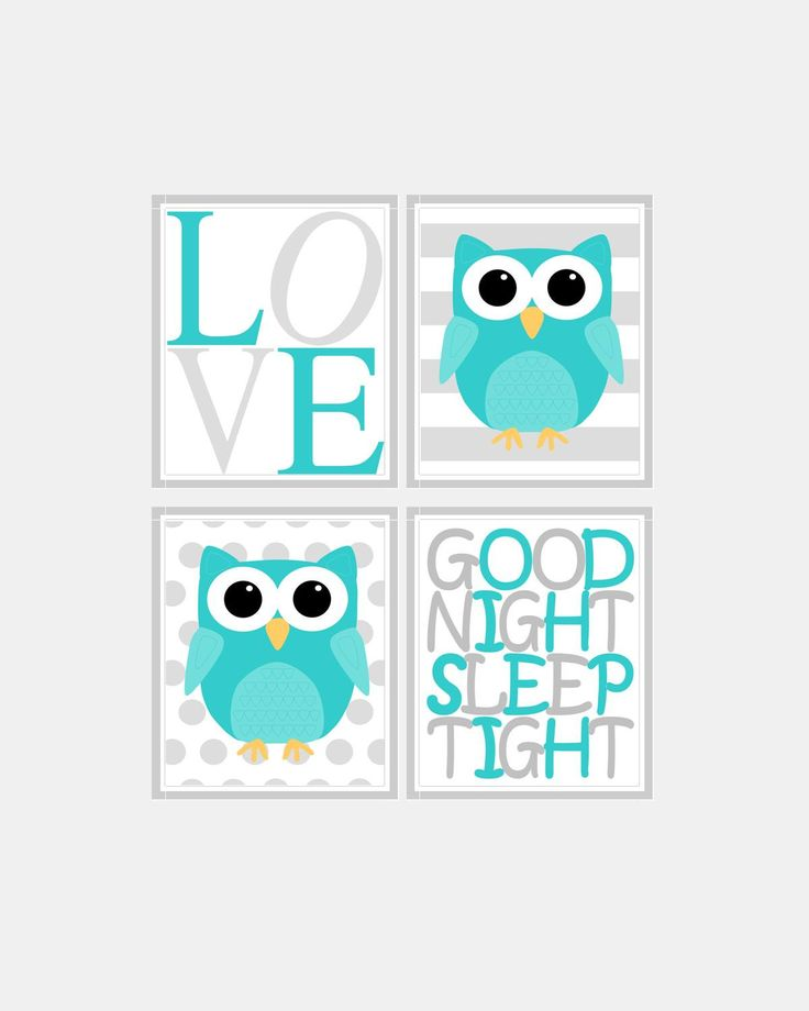 Owl bedroom decor