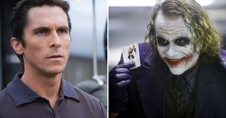 El actor Christian Bale admitió que el Joker de Heath Ledger arruinó sus planes para Batman, ya que fue un personaje que se apoderó de la película