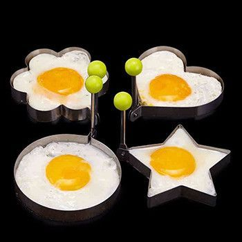 Become an expert on making fried eggs! - Stainless Steel Fried Egg Mold / Pancake Mold. - Excellent design for cooking eggs or pancakes for your lover as well as your family. Ideal for making pancakes