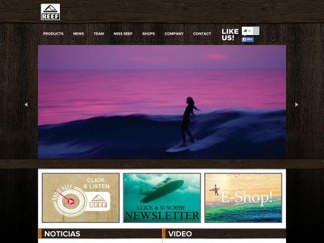 Canal de ventas online de la conocida marca REEF!