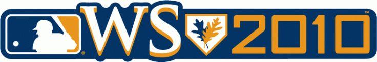 MLB World Series Wordmark Logo (2010) - 2010 World Series