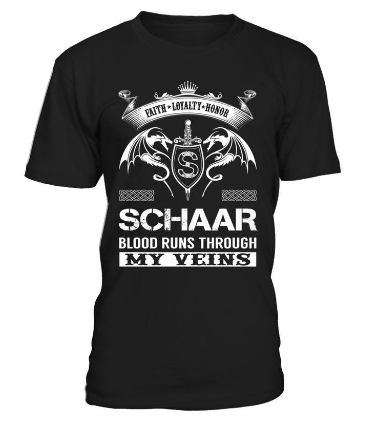 SCHAAR Blood Runs Through My Veins