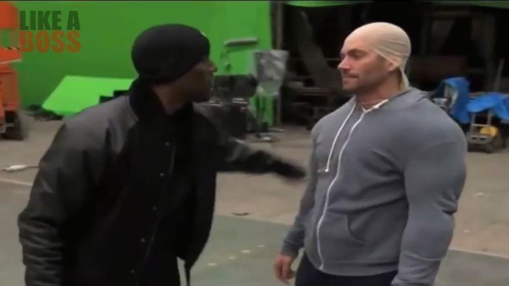 Paul Walker Impersonating Vin Diesel Like A BOSS