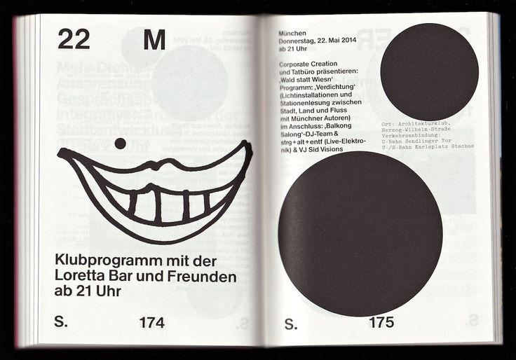 Booklet, Illustrations and concept: Bernd Kuchenbeiser Projekte, München, Bernd Kuchenbeiser with Christian Lange for BDA Bavaria