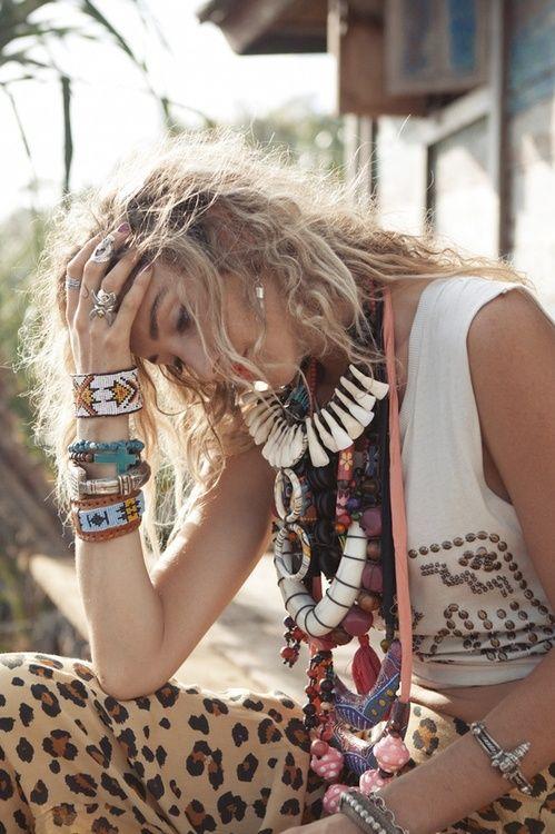 .: Boho Chic, Fashion, Beaded Aztec, Inspiration, Hippie, Aztec Cuff, Boho Style, Bohemian Style, Gypsy