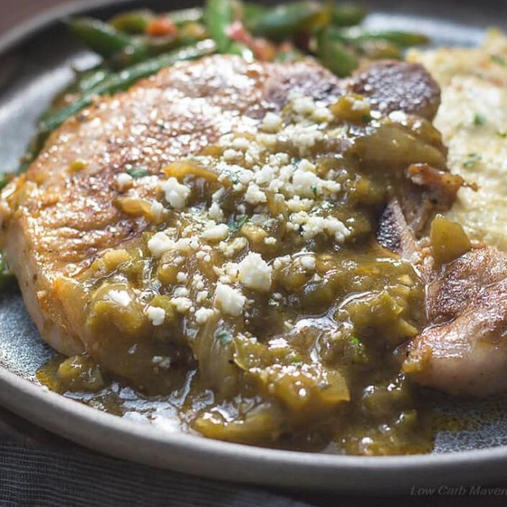"Kim | Low Carb Maven on Instagram: ""I love these 20 minute Mexican Pork Chops …"