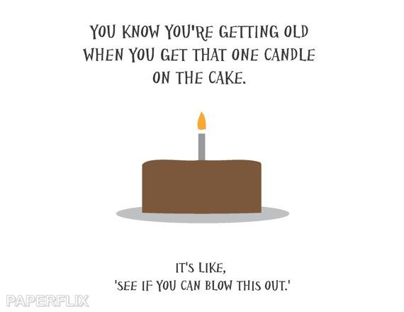 Jerry Seinfeld Quote Birthday Card