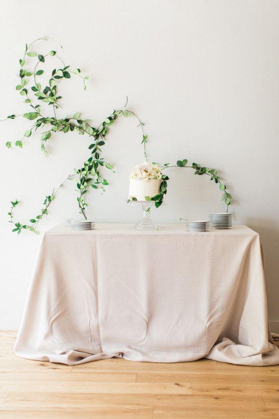 simple dessert table