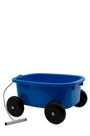 """Take your toys with you in this fun pull wagon.<div class=""""pdpDescContent""""><BR /><b class=""""pdpDesc"""">Dimensions:</b><BR />L38xW34xH20 cm</div>"""