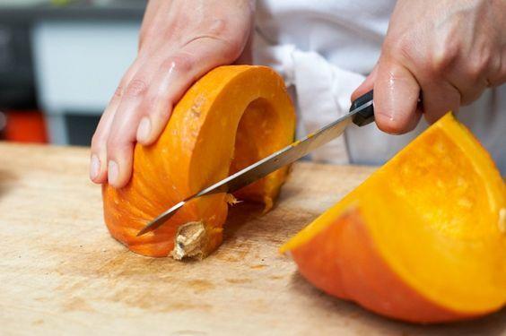 Hokkaido Kürbis Suppe zubereiten Anleitung