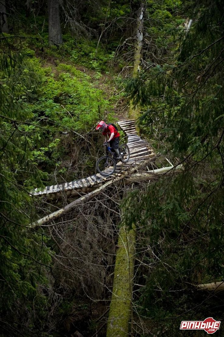 If there is no path just build one! #cycling #bike #ride #explore #exercise #mtb