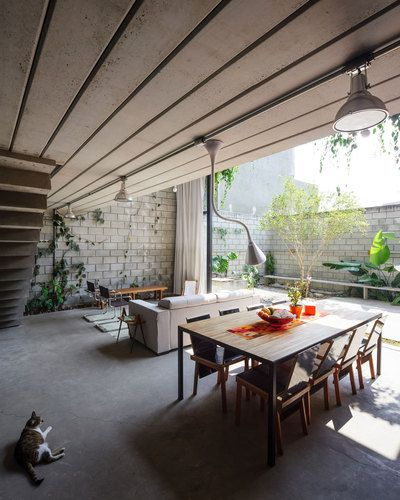 São Paulo, Brazil  Maracanã House  Terra e Tuma Arquitetos Associados