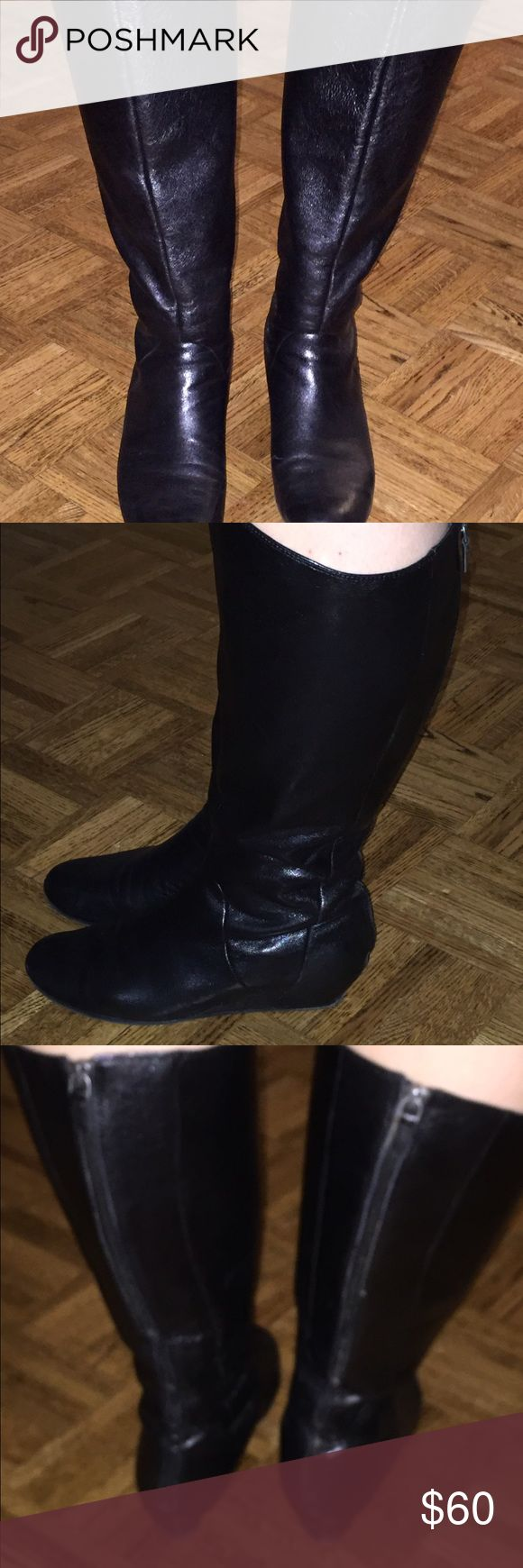 BP. Nordstrom Boots - Extended Calf Size BP. Nordstrom Wide Calf boots. Zipper up the back. Small wedge. Very comfy, almost perfect condition BP. Nordstrom Shoes Winter & Rain Boots