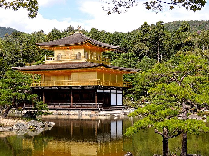 The Temple of the Golden Pavilion in all its majesty is something you must see with your own eyes to believe.