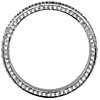 Trio Micropavé Diamond Eternity Ring in Platinum (4/5 ct. tw.) | Blue Nile