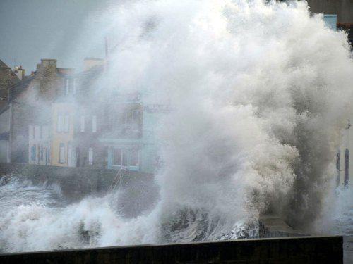 Ile de Sein #Finistere fevrier 2014, la rage de la mer #Bretagne #Brittany
