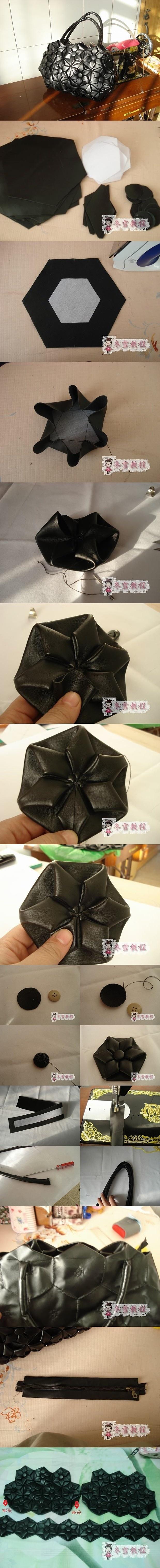 A flower hexagon