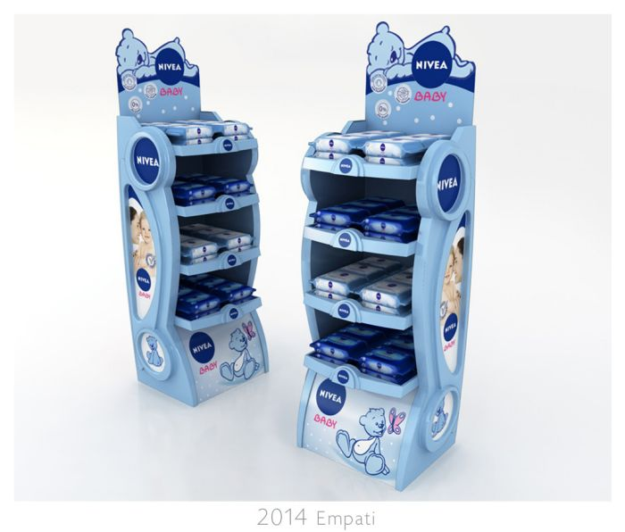 Nivea Baby POP Display by Bahar Bostancı at Coroflot.com