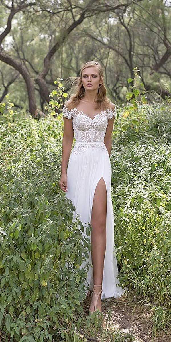 18 Unique & Hot Sexy Wedding Dresses ❤ See more: http://www.weddingforward.com/sexy-wedding-dresses-ideas/ #wedding #sexy #dresses