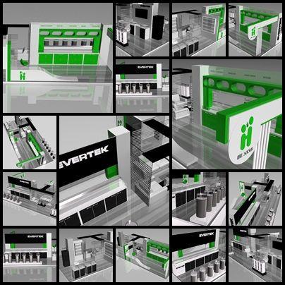 Evertek demande à des designers Tunisien de créer un Stand qui permet d'abriter non seulement Evertek mais également la marque 100% accessoires Hi Line, qui vient d'arriver sur le marché, grâce à Cellcom