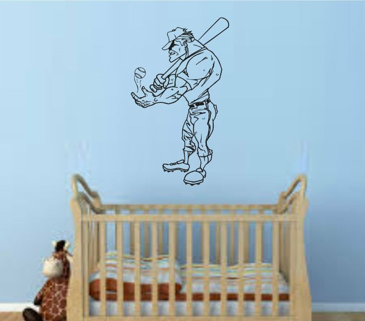 Amazon Baseball Player Version 107 Wall Vinyl Decal Sticker Art Sports Kid