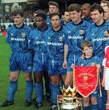 Manchester united 1992 Away Soccer shirt  Medium shirt on site at £39.99