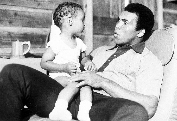 Muhammad Ali Jr and Muhammad Ali Sr