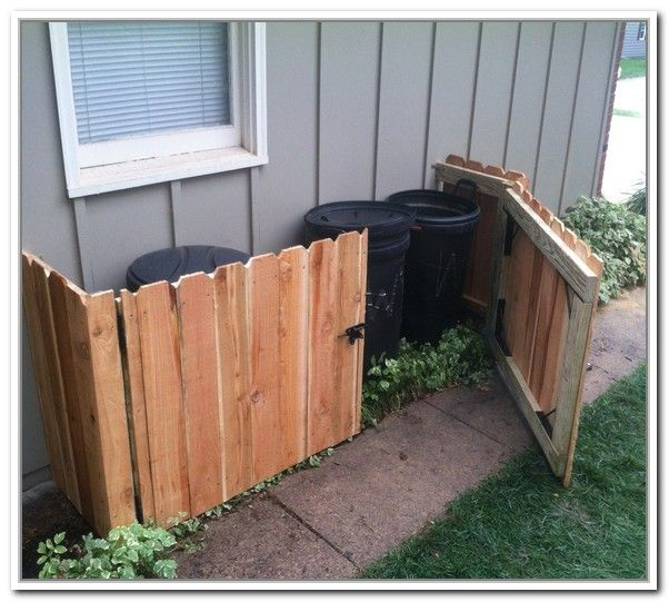 best 20 garbage can storage ideas on pinterest outdoor trash cans trash can covers and outdoor storage units - Outdoor Trash Cans