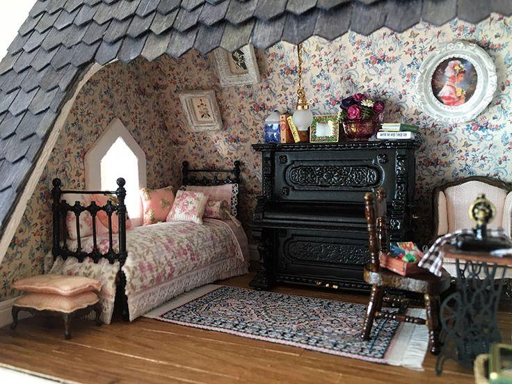 Fairfield Dollhouse 1:24 scale - Hobby Room
