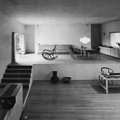 Kazuo Shinohara. Sea Stairway House, Tokyo. 1970. Levels. Timber and White.