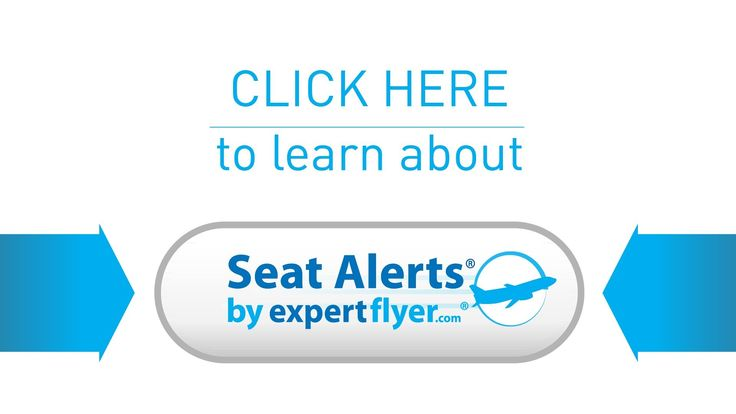 Flight Seat Availability - Airplane Seats Alerts by Expert Flyer