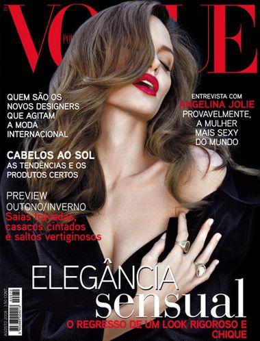 Vogue Portugal #70: Agosto de 2008