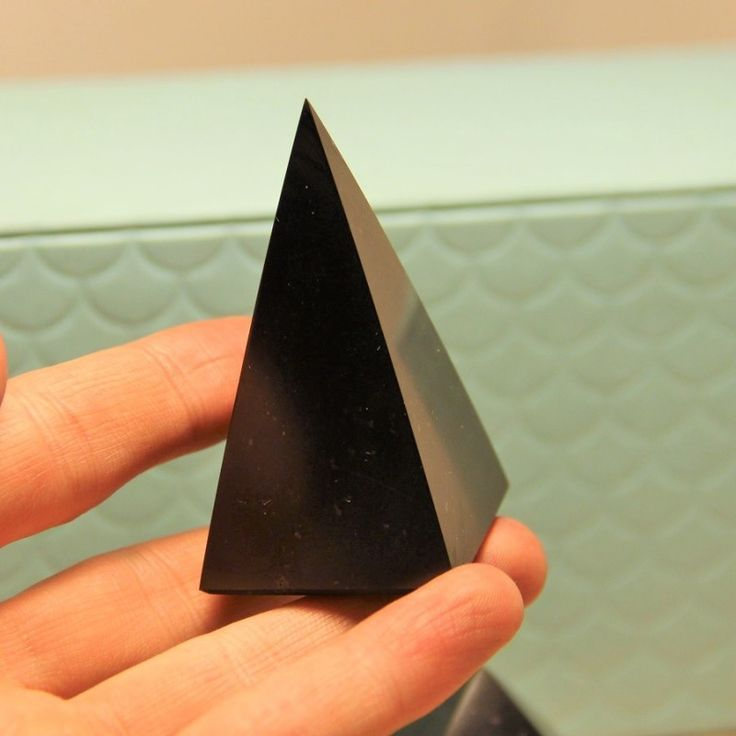 Buy from Russia 30 mm Polished shungite high pyramid $9.19